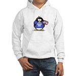 Obama 08 Penguin Hooded Sweatshirt