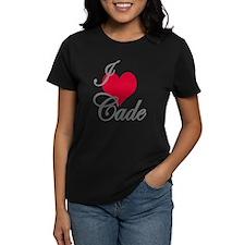I love (heart) Cade Tee
