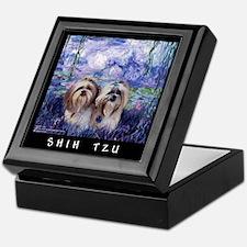 Shih Tzu Fine Art Ziggy & Nemo Keepsake Box