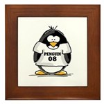 Penguin 08 Penguin Framed Tile
