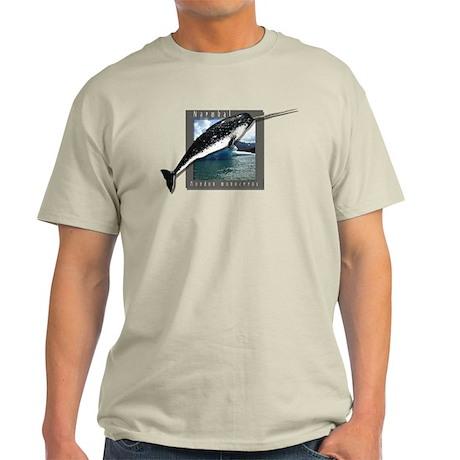 Narwhal Art Light T-Shirt