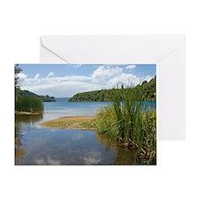 Lake Tarawera Greeting Card