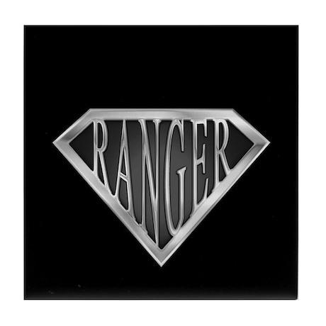 SuperRanger(metal) Tile Coaster