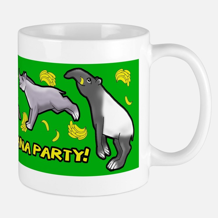Happy Tapir Banana Party Mug