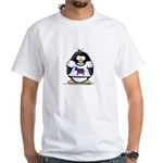 Democrat Penguin White T-Shirt