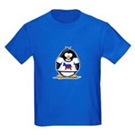 Democrat Penguin Kids Dark T-Shirt