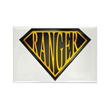 SuperRanger(blk/gld) Rectangle Magnet