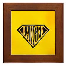 SuperRanger(blk/gld) Framed Tile