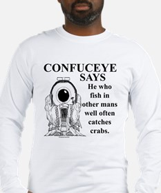 Confuceye Says Long Sleeve T-Shirt