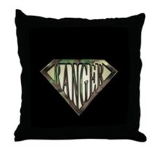 SuperRanger(camo) Throw Pillow