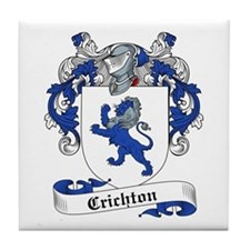Crichton Family Crest Tile Coaster