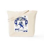 Crichton Family Crest Tote Bag