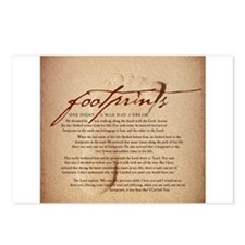 Footprints Artwork Products Postcards (Package of
