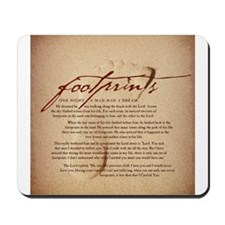 Footprints Artwork Products Mousepad