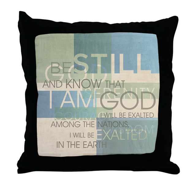 Throw Pillows With Scripture : Psalm Scripture Collage Produ Throw Pillow by ccart