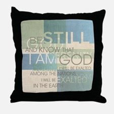 Psalm Scripture Collage Produ Throw Pillow