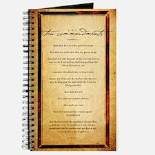 The Ten Commandments Artwork Journal