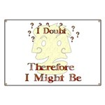 Doubt Therefore Might Be Banner