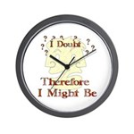 Doubt Therefore Might Be Wall Clock