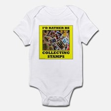 STAMP COLLECTOR Infant Bodysuit