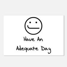 Have An Adequate Day Postcards (Package of 8)