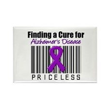 Alzheimer's Cure Rectangle Magnet