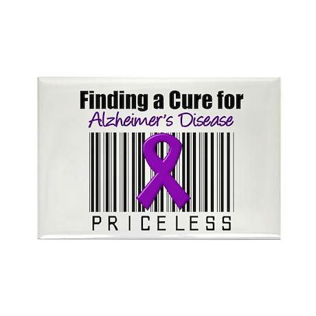 Alzheimer's Cure Rectangle Magnet