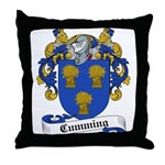 Cumming Family Crest Throw Pillow