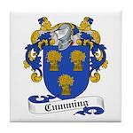 Cumming Family Crest Tile Coaster