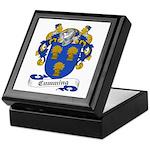 Cumming Family Crest Keepsake Box