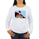 Editorial Cartoon Women's Long Sleeve T-Shirt