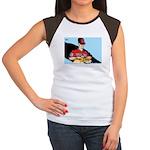 Editorial Cartoon Women's Cap Sleeve T-Shirt