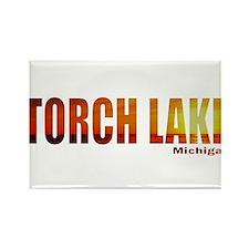 Torch Lake, Michigan Rectangle Magnet