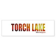 Torch Lake, Michigan Bumper Bumper Sticker