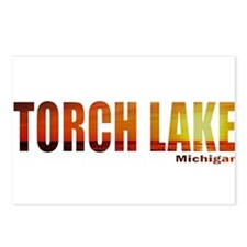 Torch Lake, Michigan Postcards (Package of 8)