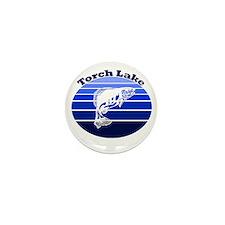 Torch Lake, Michigan Mini Button