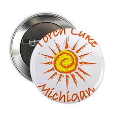 "Torch Lake, Michigan 2.25"" Button"