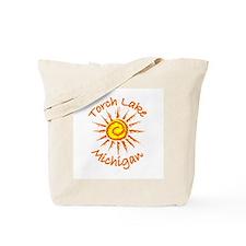 Torch Lake, Michigan Tote Bag