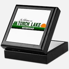 Its Better on Torch Lake, Mic Keepsake Box