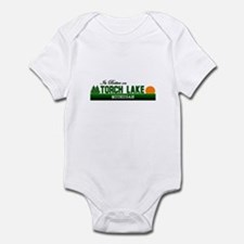 Its Better on Torch Lake, Mic Infant Bodysuit