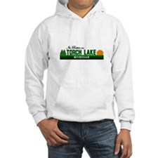 Its Better on Torch Lake, Mic Hoodie