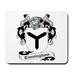 Cunningham Family Crest Mousepad