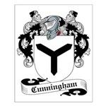 Cunningham Family Crest Small Poster