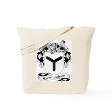 Cunningham Family Crest Tote Bag
