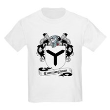 Cunningham Family Crest Kids T-Shirt