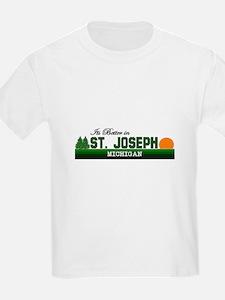 Its Better in St. Joseph, Mic T-Shirt