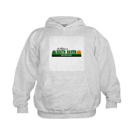 Its Better in South Haven, Mi Kids Hoodie