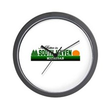 Its Better in South Haven, Mi Wall Clock
