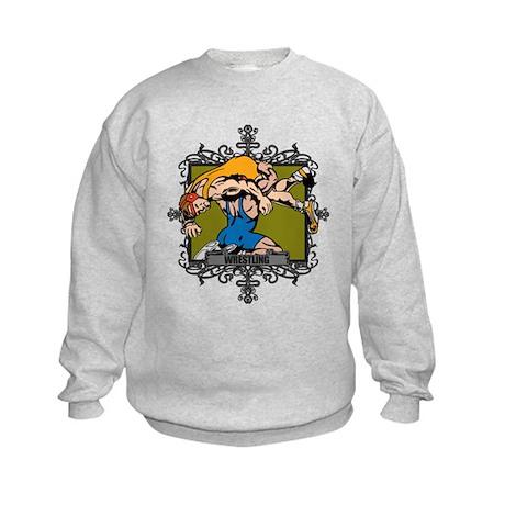 Aggressive Wrestling Kids Sweatshirt