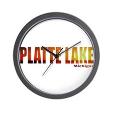 Platte Lake, Michigan Wall Clock